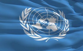 Panthermedia Flagge United Nations