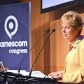 Ministerin Schwall-Düren eröffnet gamescom congress 2015