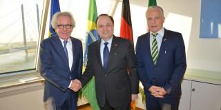 Antrittsbesuch des brasilianischen Botschafters Vilalva