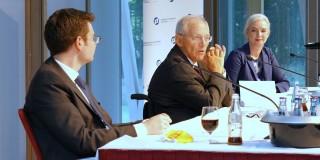 """Marco Buschmann und Wolfgang Schäuble im Gespräch über """"Die Sterbliche Seele der Freiheit"""""""