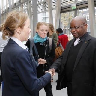 Besuch aus Mosambik