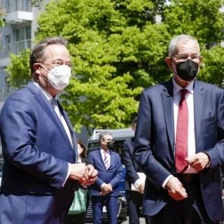 Empfang des Bundespräsidenten der Republik Österreich, Alexander Van der Bellen