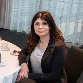 Minister Stephan Holthoff-Pförtner trifft die Botschafterin Montenegros, Vera Kuliš