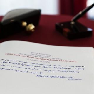 Antrittsbesuch des Botschafters der Arabischen Republik Ägypten, S.E. Khaled Galal Abdelhamid