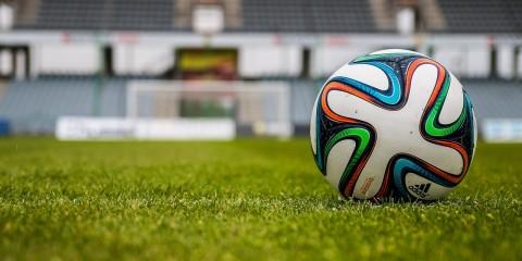 Fußball Fuballfeld Tor Rasen