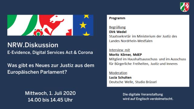 NRW.Diskussion Was gibt es Neues zur Justiz im EP?