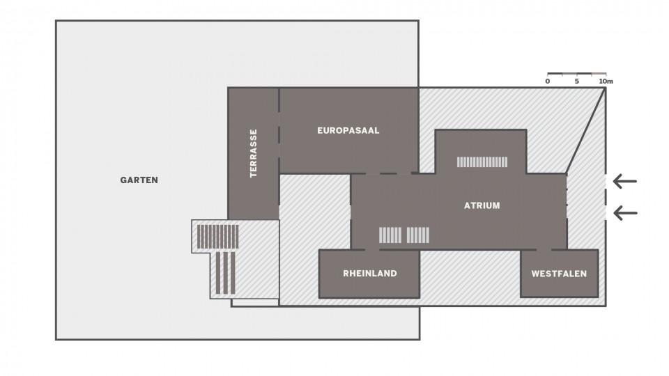 Landesvertretung Berlin Lageplan Erdgeschoss