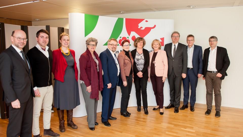 Auswärtige Sitzung des NRW-Kabinetts in Brüssel