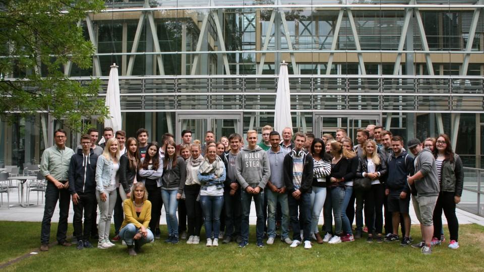 16.06.2015: Besuchergruppe Gesamtschule Hennef