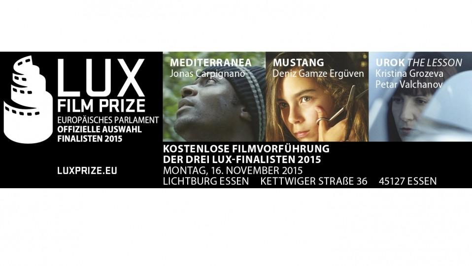 LUX Filmtag November 2015
