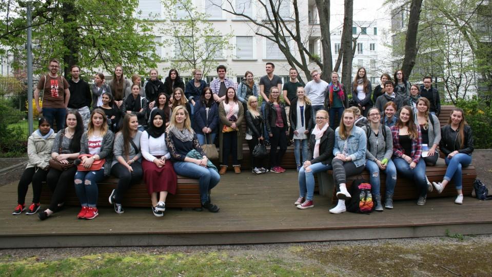 Besuchergruppe Auszubildende für Pflegeberufe des Klinikums Dortmund