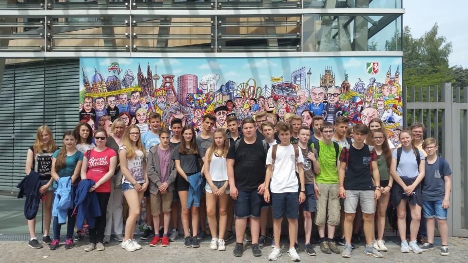 30.06.2016 Schülergruppe aus Düren