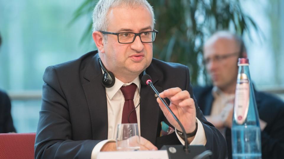 Marschall Dr. Henryk Mercik, Vorstandsmitglied der Woiwodschaft Schlesien