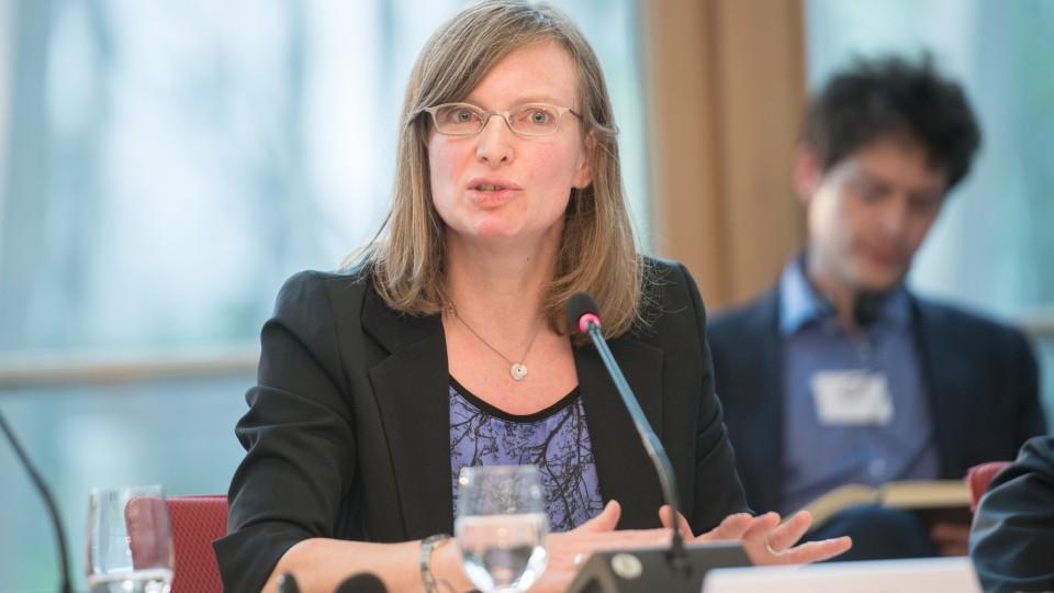 Dr. Eva Kracht, Leiterin der Unterabteilung Europa und Internationales im Bundesministerium für Umwelt, Naturschutz und nukleare Sicherheit