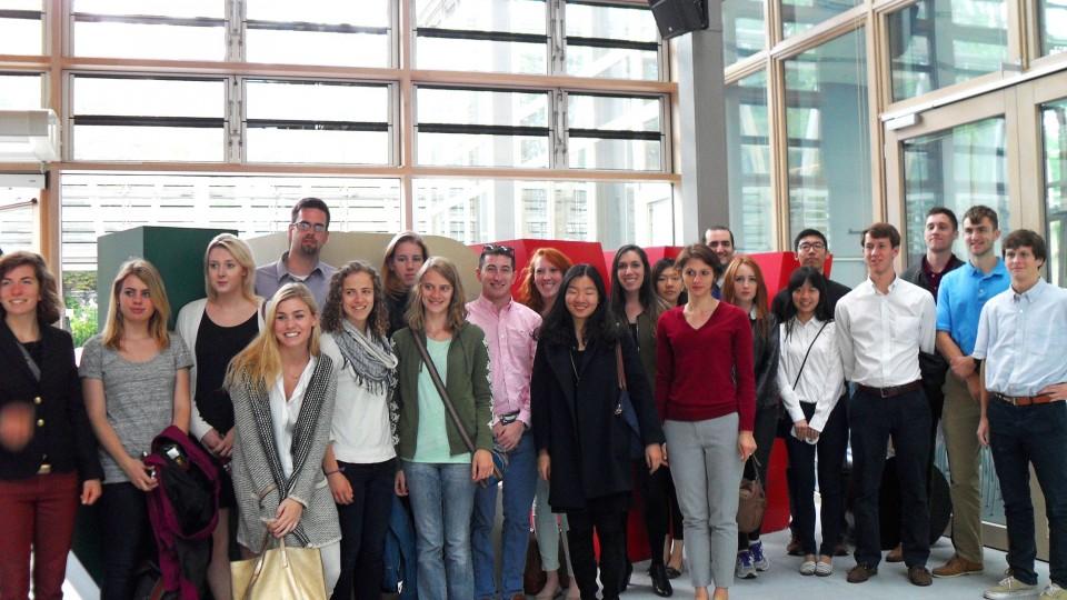 US-Studierende zu Gast in der NRW-Landesvertretung Berlin