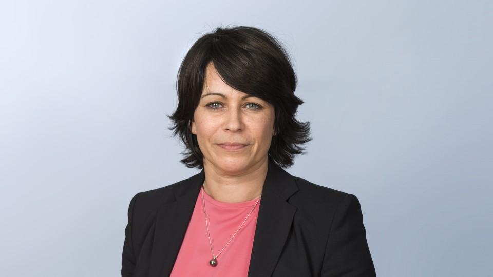 Staatssekretärin Anja Surmann