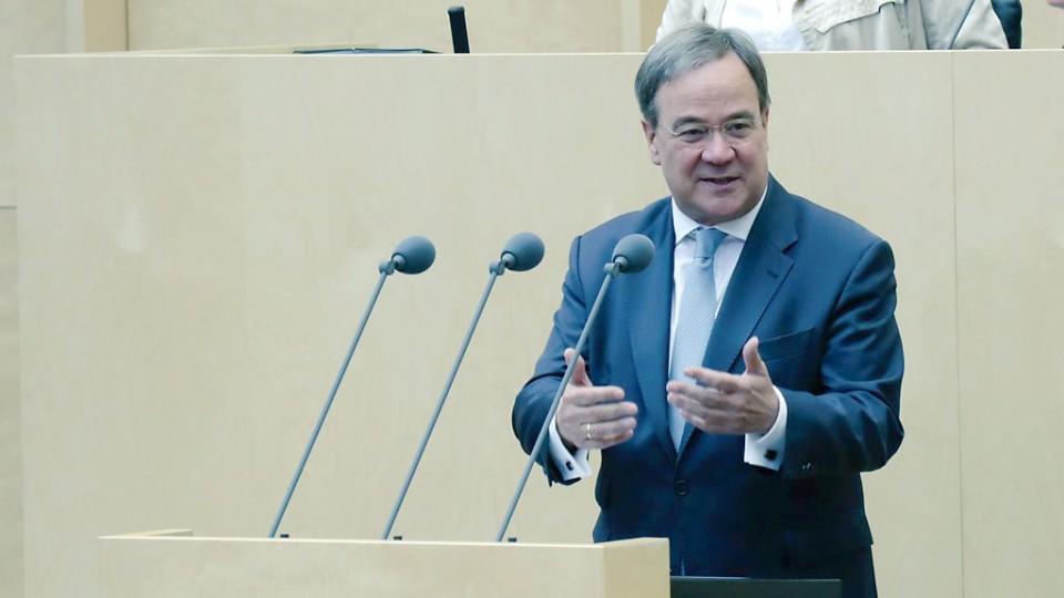 Ministerpräsident Laschet 977. Bundesrat