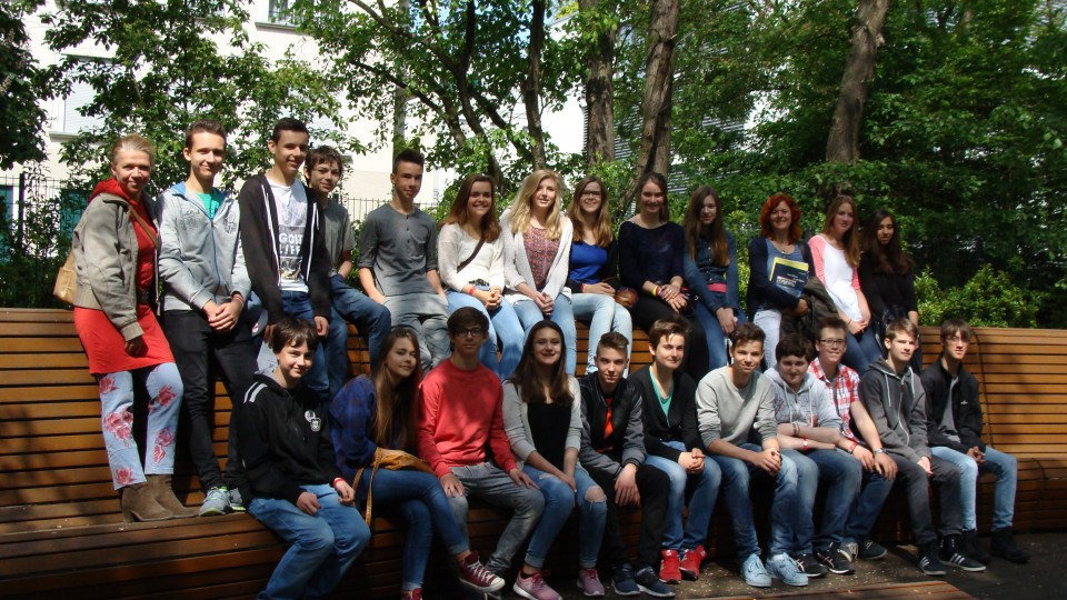 21.05.2015: Besuchergruppe Gymnasium Köln-Pesch