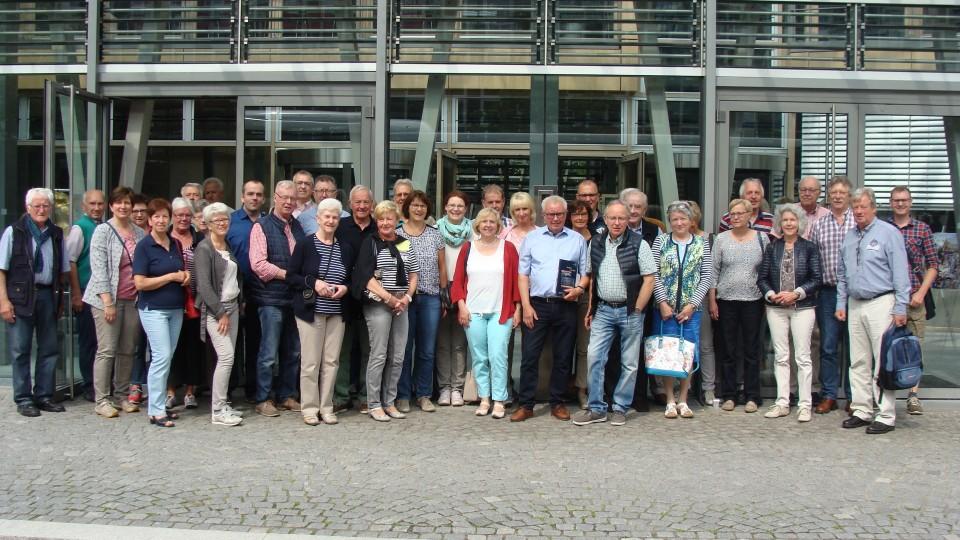 27.05.2016 Besuchergruppe aus Ibbenbüren