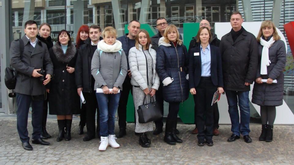 Ukrainische Verwaltungsangestellter von der Europäischen Akademie e.V.