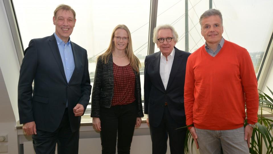 Minister trifft Organisatoren von Pulse of Europe