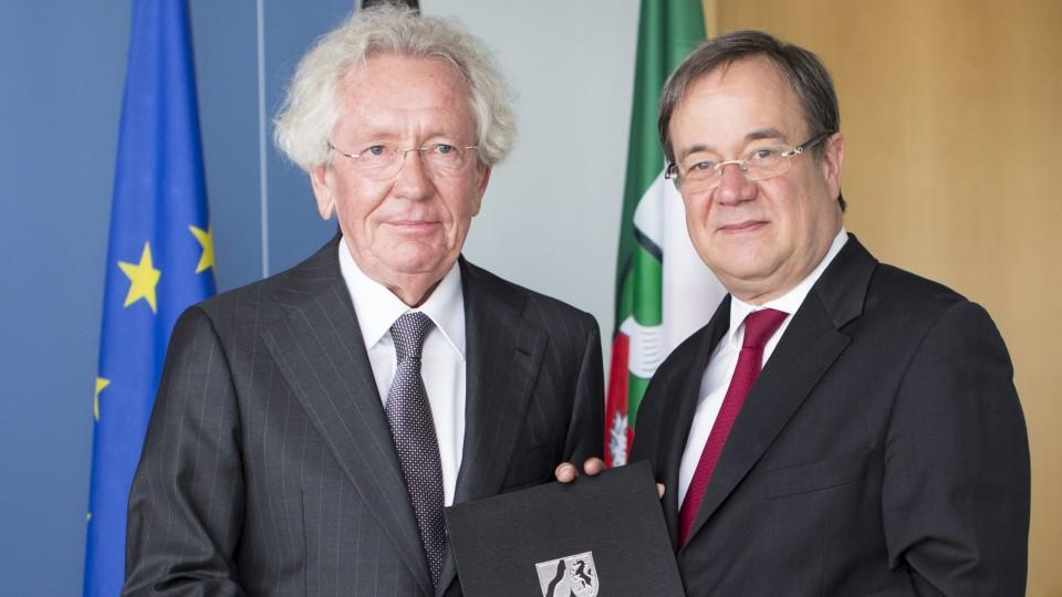 Ernennung Minister Holthoff-Pförtner