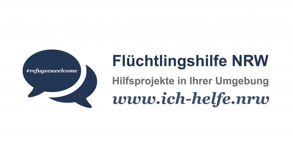 Flüchtlingshilfe NRW Banner