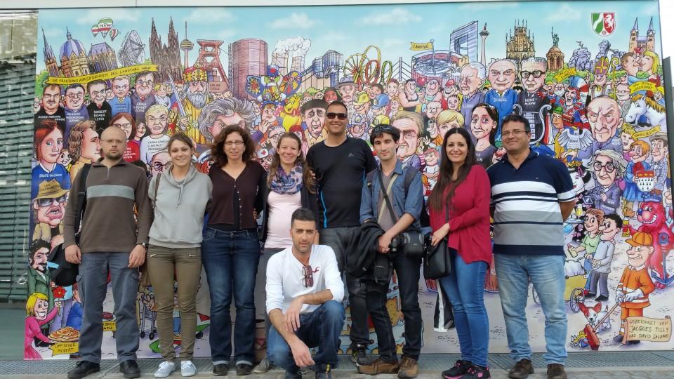 Studierende des Haifa Centers