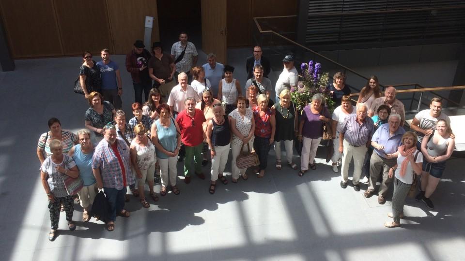Besuchergruppe des Abgeordneten Mahmut Özdemir MdB