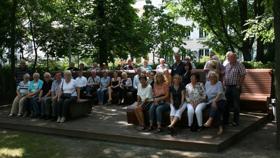 Besuchergruppe des Abgeordneten Günter Krings MdB