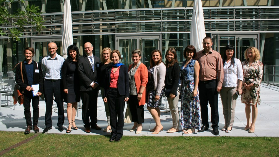 19.07.2016 Besuchergruppe der Europäischen Akademie Berlin e.V.