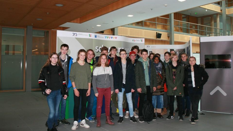 Besuchergruppe Otto-Hahn-Gymnasium Bensberg