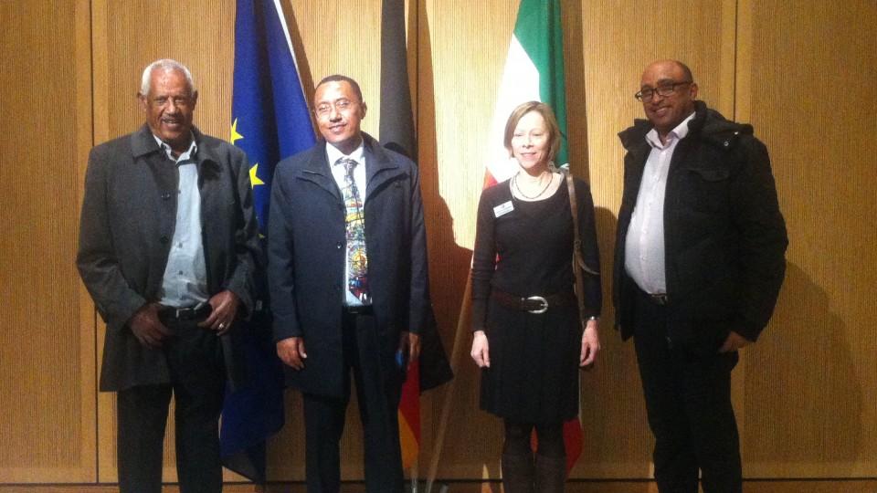 Äthiopische Delegation in der Landesvertretung