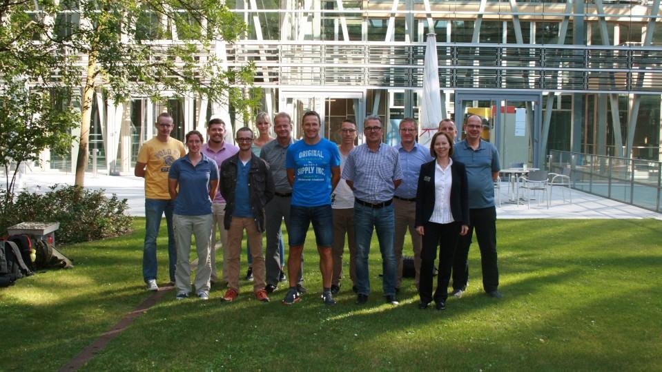 28.08.2017 Besuchergruppe von Berufsoffizieren und Unteroffizieren des Kommando Streitkräftebasis Bonn