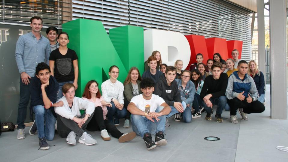 19.10.2017 Besuchergruppe Schüler der 9. Klasse Erftgymnasium