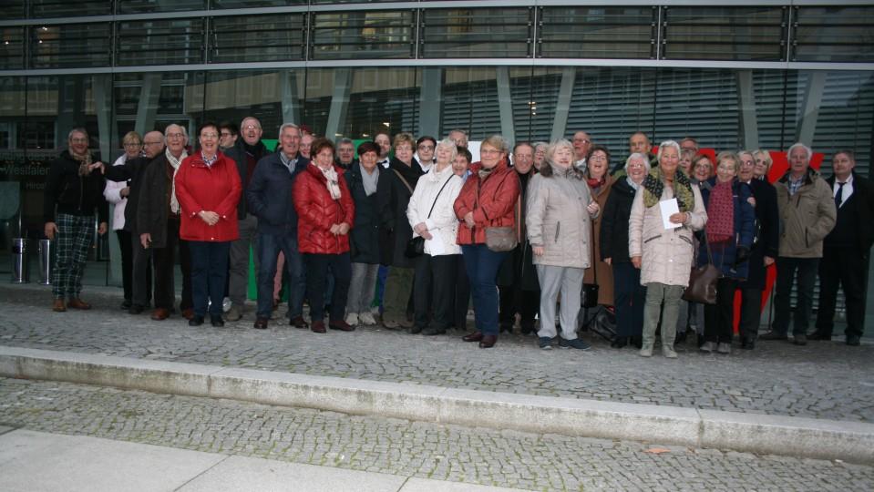 Besuchergruppe des Abgeordneten Norbert Röttgen MdB