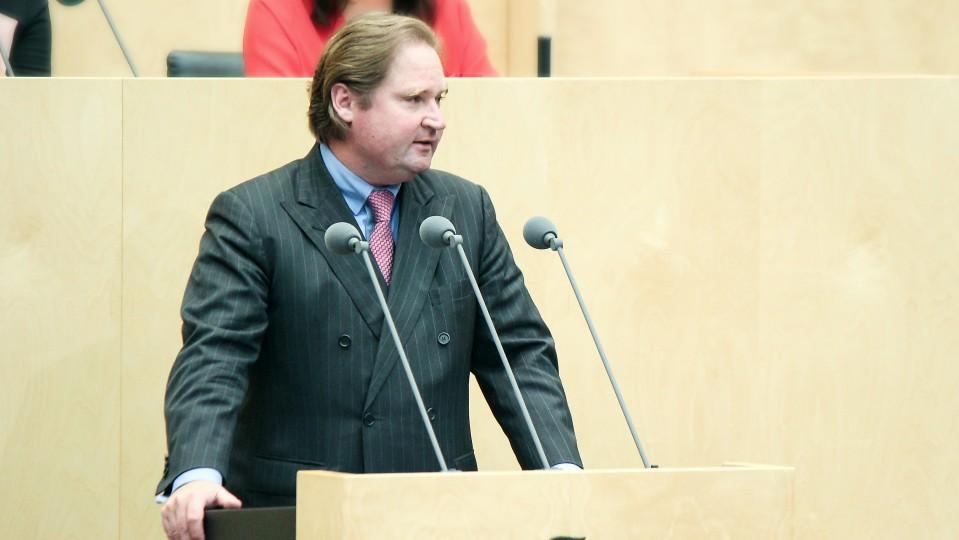 NRW-Finanzminister Lutz Lienenkämper im Bundesrat, 960. Sitzung