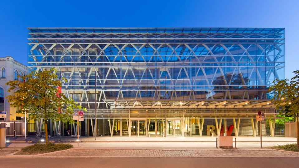 Gebäude der NRW-Landesvertretung 2015