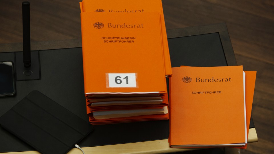 995. Sitzung des Bundesrates - 06