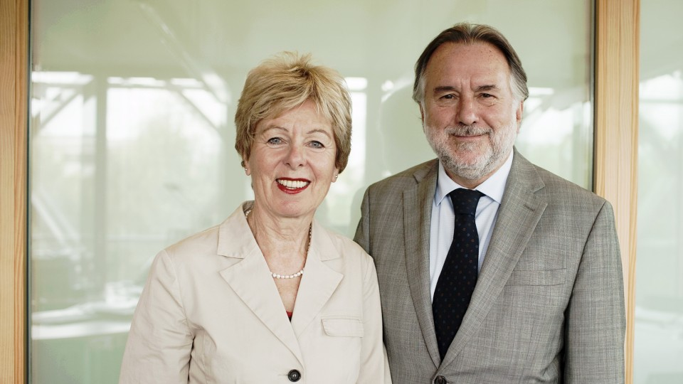 Antrittsbesuch des Botschafters der Republik Chile