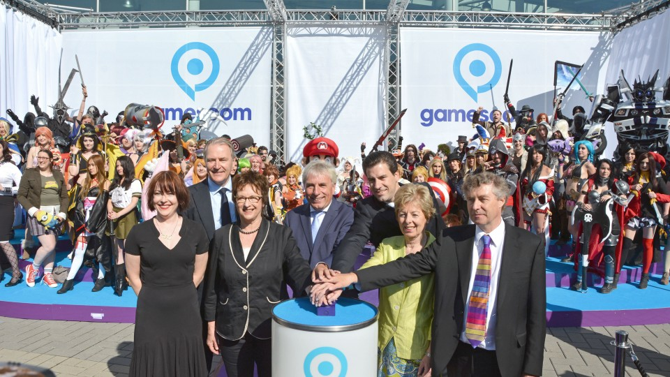 Ministerin Schwall-Düren eröffnet Gamescom 2015