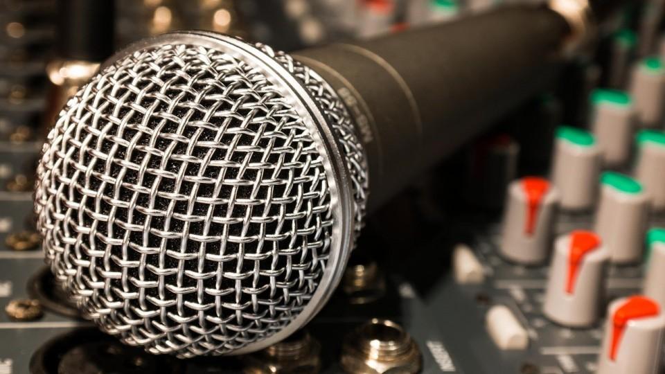 Mikrofon Mischpult