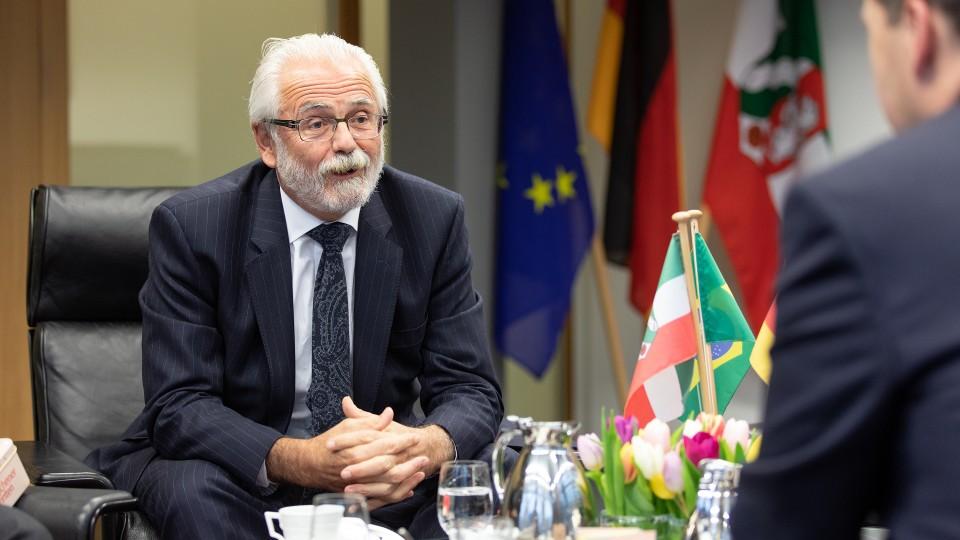 Antrittsbesuch des brasilianischen Botschafters