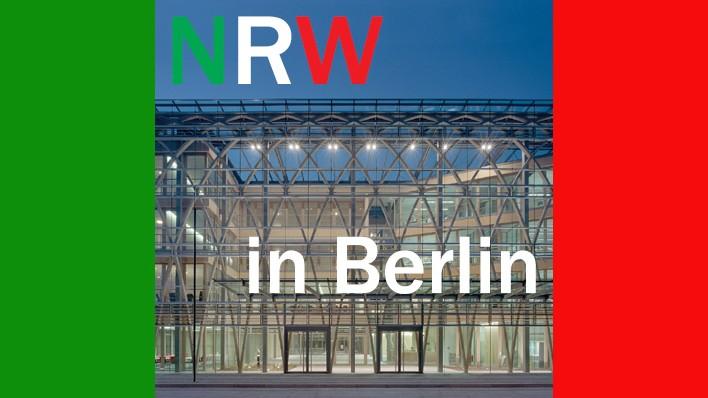 Die NRW-Landesvertretung in Berlin bei Twitter