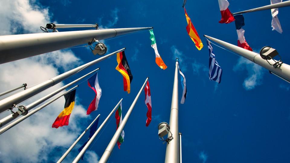 Flaggen Himmel