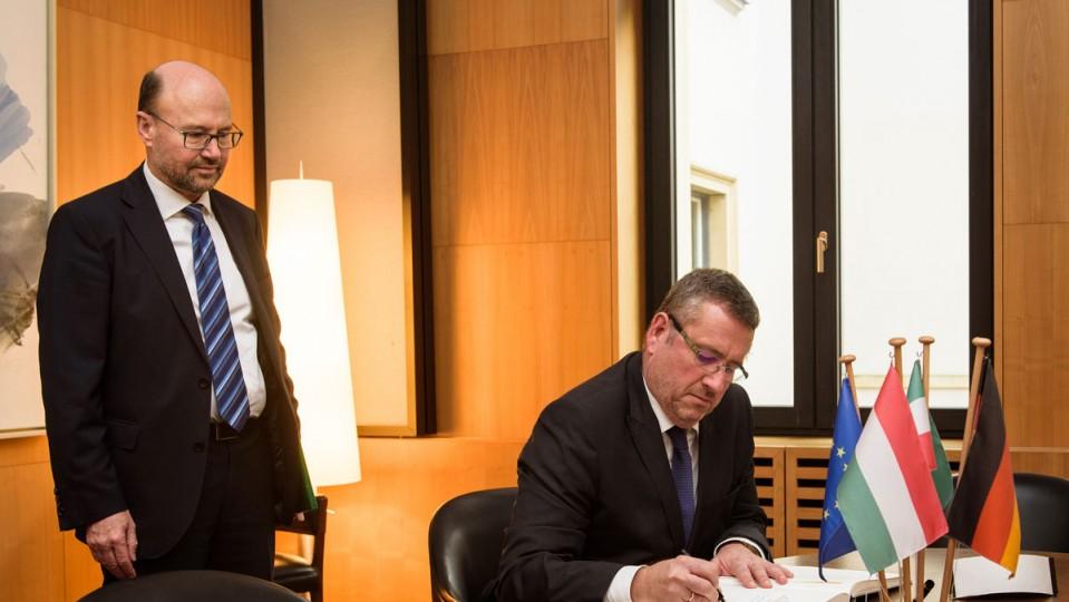 Empfang des ungarischen Botschafters