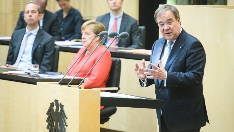 Laschet Merkel 922. Bunderat