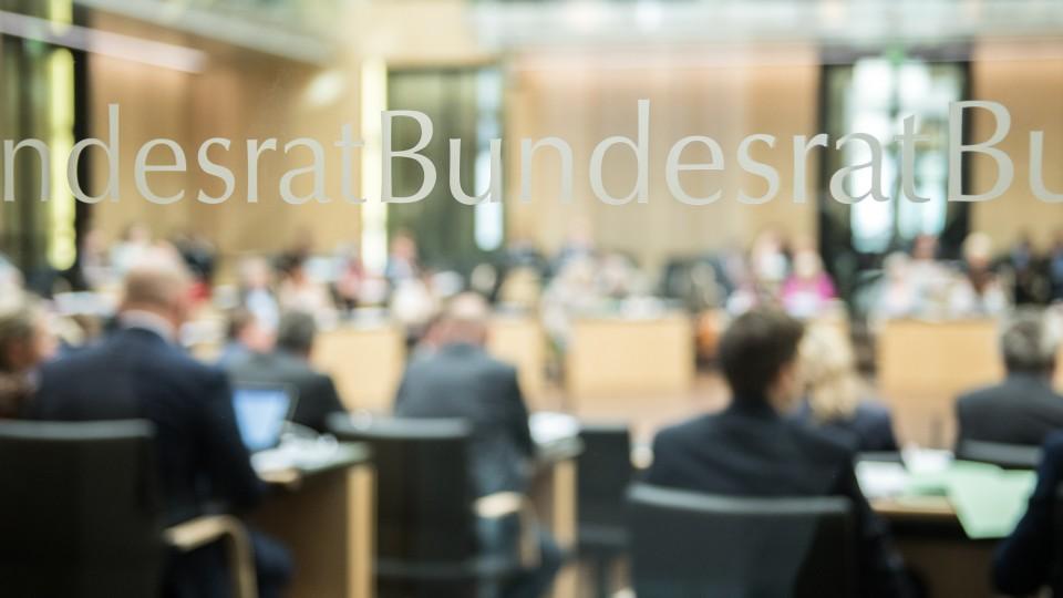 Bundesrat Tür Plenarsaal