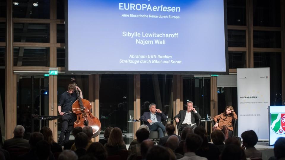 Europa erlesen - Sibylle Lewitscharoff, Najem Wali